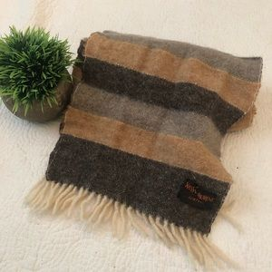 Yves St Laurent cashmere wool scarf